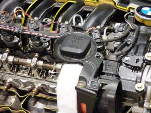 cilindro motor coche gasolina