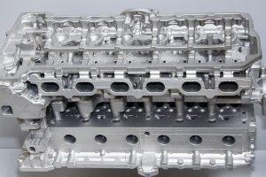 culata motor coche gasolina